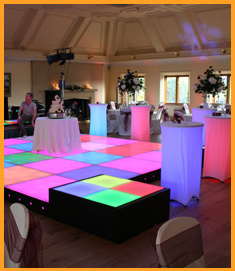 Cocktail Table Decorations Ideas cocktail table decor with a big bow Led Poseur Tables And Boogie Bars